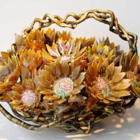 Gilding The Sunflower Basket